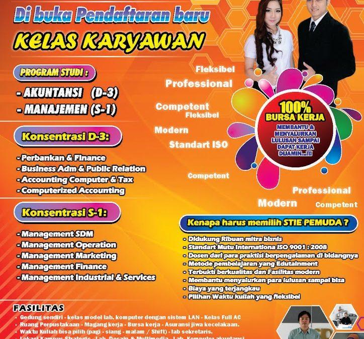 Dibuka Kelas Karyawan STIE PEMUDA Surabaya