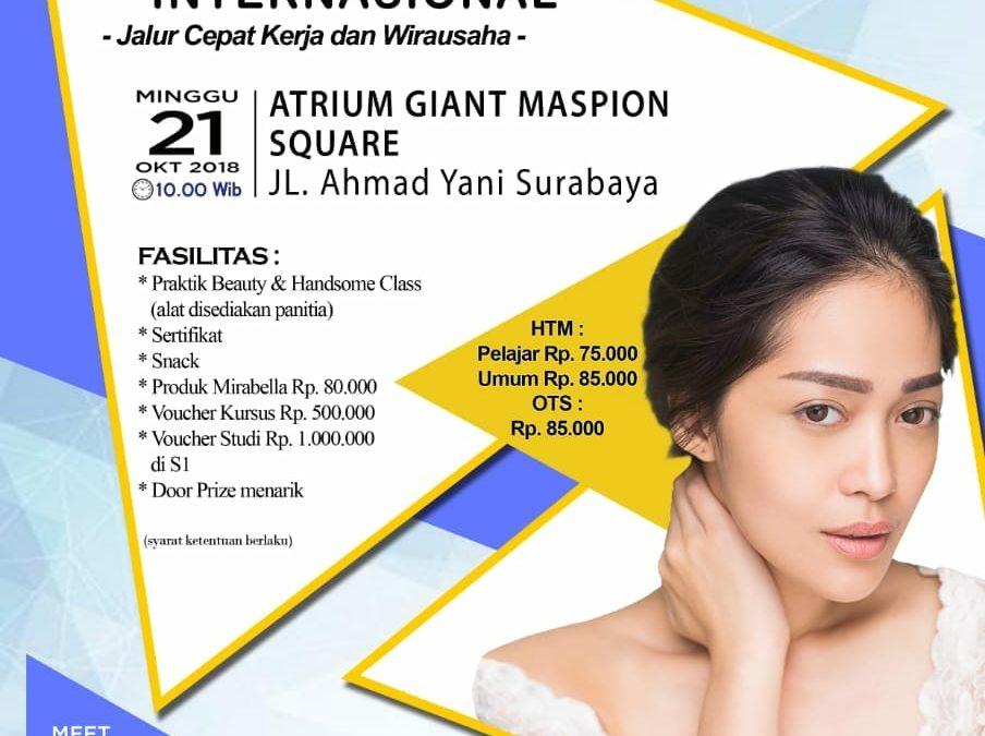 "Seminar Nasional ""Personal Branding dan Beauty & Handsome Class Akbar 2018"""