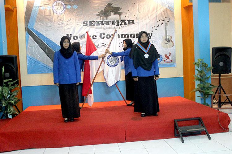 Sertijab Unit Kegiatan Mahasiswa Voice Community  Tahun Angkatan 2018-2019