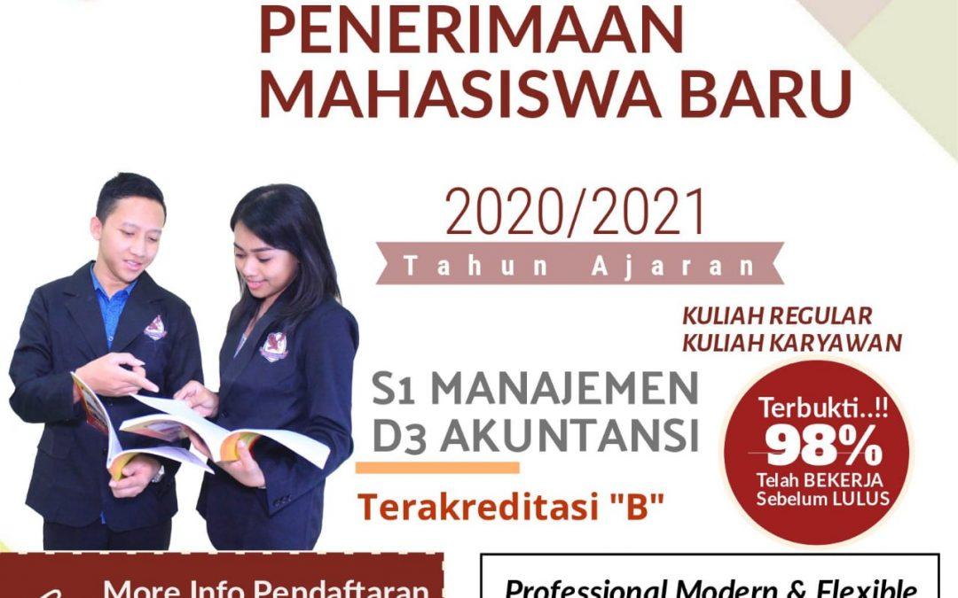 PENERIMAAN MAHASISWA BARU STIE PEMUDA SURABAYA TAHUN AJARAN 2020/2021