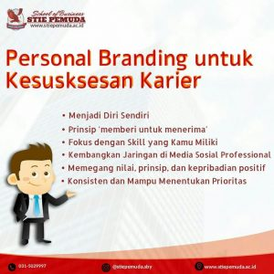STIE Pemuda Personal Branding